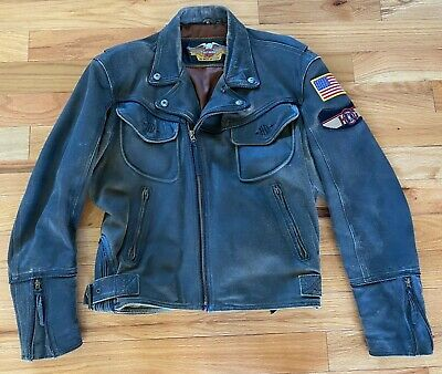 Harley Davidson Men's Billings leather jacket size XL COOL!!  RARE!!!