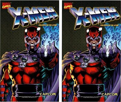 X Men Children of the Atom Arcade Game side art set for sale  McClure