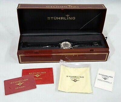 Gorgeous Stuhrling Original CAL 90098 Lexus Automatic 20 Jewels Wrist Watch