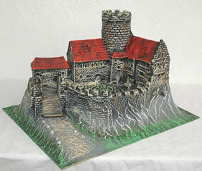 Hausser Elastolin Ritterburg - Kunststoff Burg um 1970