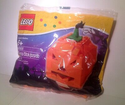 LEGO Halloween Jack O Lantern Pumpkin Set 2013 New 40055 Sealed 52 Pieces