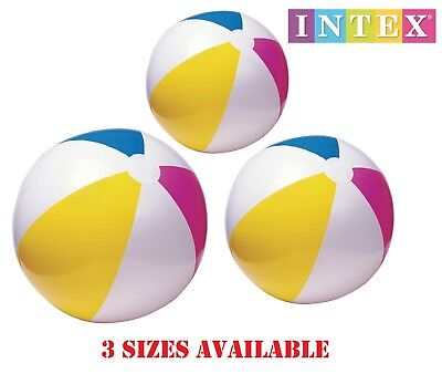 Large INFLATABLE BEACH BALL Giant Blow Up Holiday Pool Party Swimming Garden - Large Blow Up Ball