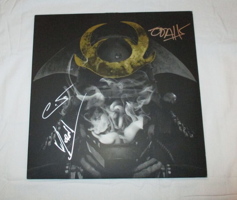 GLITCH MOB SIGNED LOVE DEATH IMMORTALITY VINYL RECORD
