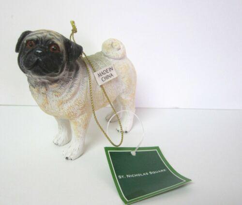 Pug Hanging Ornament