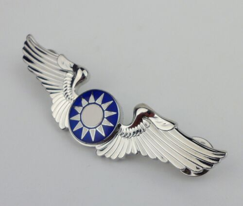 WW2 Chinese KMT Officer Air Force Flying Tigers Wings Badge Pin