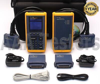 Fluke Networks Omniscanner 2 Cat5 Cat5e Cat6 Certifier Tester Cable Analyzer