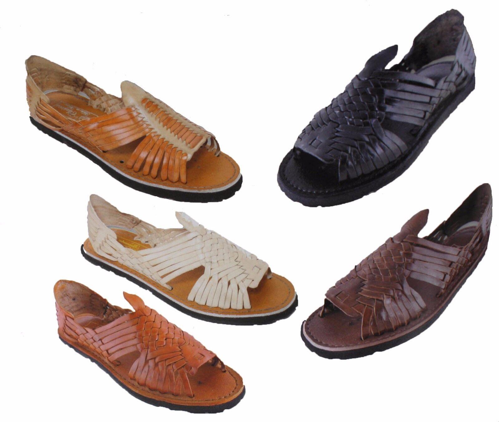 MEXICAN SANDALS Men's Huarache Sandals - ALL COLORS - Leathe