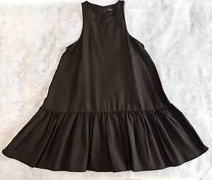 May black sleeveless trapeze dress. Size 6 or XS. Wilston Brisbane North West Preview