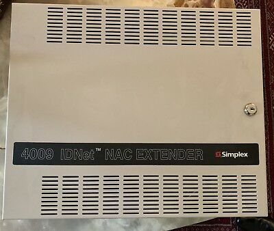 Simplex 4009-9301 Nac Power Extender Panel