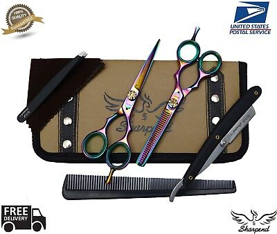 Professional Hair Cutting Japanese Scissors Barber Stylist Salon Shears 5.5