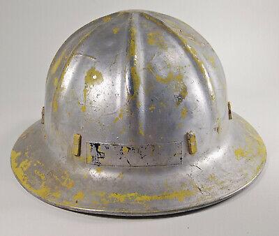 Apex Aluminum Hard Hat Full Brim Cap Vintage