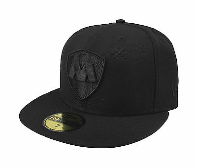- New Era 59Fifty Cap Rayados de Monterrey Mexican Soccer Club Fitted Hat - Black