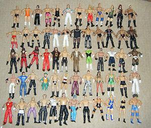 WWE-WRESTLING-ACTION-FIGURINE-SERIES-JAKKS-DELUXE-CLASSIC-MARVEL-TNA-MATTEL-WWF