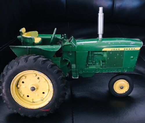 JOHN DEERE TRACTOR 1960's 3020 or 4010 4020 Die-Cast Metal Farm Toys JD