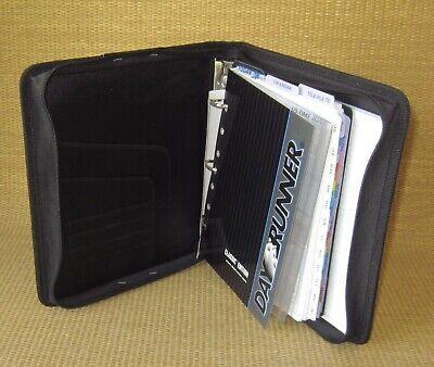 Desk Day-runnertimer Gray Durable 1.25 Rings Zip Plannerbinder Classic