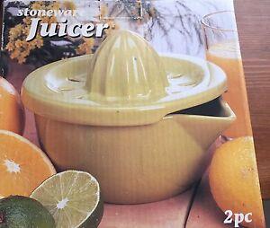 Stoneware juicer