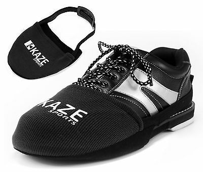 KAZE SPORTS Bowling Shoe Slider Slide, Black