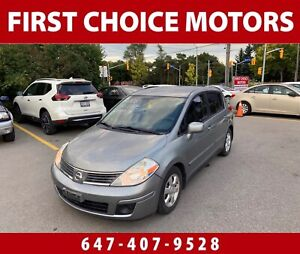 2008 Nissan Versa SL. ~AUTOMATIC, LOADED, FULLY CERTIFIED~
