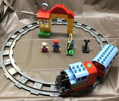 LEGO Duplo My First Train 4281 Motorized Locomotive Incomplete Tested/Works