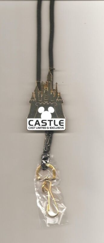 """DLR Cast Member Exclusive ID Lanyard - """"CASTLE Cast Limited and Exclusive"""""""