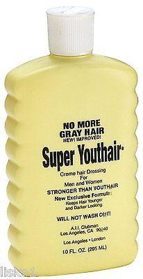Clubman Pinaud Super Youthair Creme 10 oz.  NO MORE GRAY HAIR