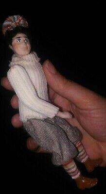 Dollhouse Miniature ooak Artisan Crafted Handmade male Doll Man for sale  Faribault