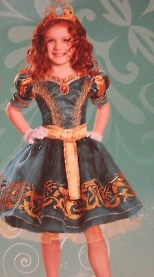 *New* Disney Deluxe Child Costume-Brave, Merida, Size 3T with Accessories! - Brave Merida Costume