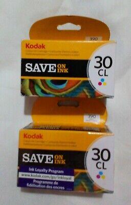 2 X Genuine Kodak 30CL Colour Ink Cartridge 8898033