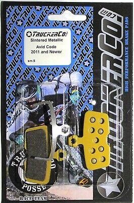 Truckerco Pastillas de Freno Disco Sinterizado Sram Avid Código 2011 + R...