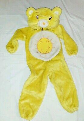 Care Bears Halloween Costume (CARE BEARS TODDLER GIRLS PLUSH YELLOW SUNSHINE BEAR HALLOWEEN COSTUME SZ. 2-4)