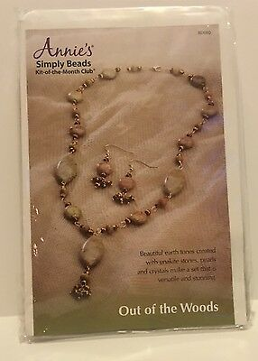 Annie's Simply Beads Out of the Woods Jewelry Craft Kit NIP