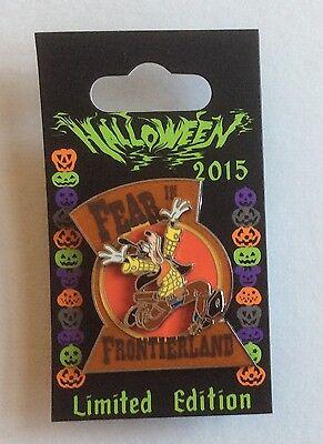 Halloween 2015 Goofy Fear in Frontierland Pin LE 4000 Disney