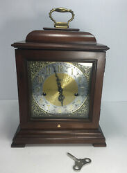 Howard Miller 612-429 Samuel Watson - Mantel Clock- 1980 - Beautiful Cherry Wood