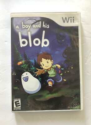 A Boy and His Blob: Trouble on Blobolonia (Nintendo Wii, 2009). Complete.