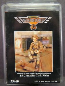 Warriors SS Grenadier Tank Rider 1/35 35460 Resin Figures