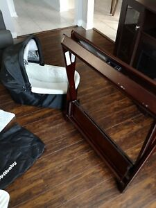 Uppa baby bassinet with stand