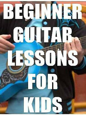 Beginner Guitar Lessons for Kids DVD New Approach Great on Rummage