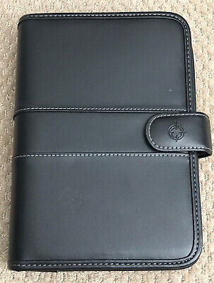 Franklin Covey Day One Classic Black Simulated Leather 7 Ring Plannerorganizer