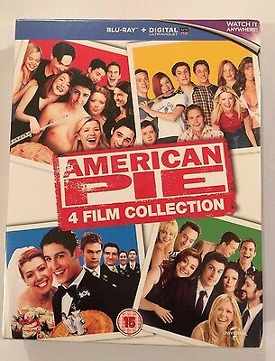 American Pie Blu Ray Collection Brand New The Wedding Reunion 1 2 3 4 Set 1 4