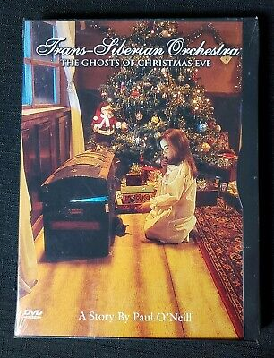 Trans-Siberian Orchestra: Ghosts of Christmas Eve DVD ~ NEW Sealed ~ FREE