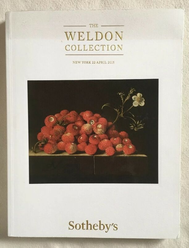 SOTHEBY'S The WELDON Collection 22 April 2015 NYC New York Art