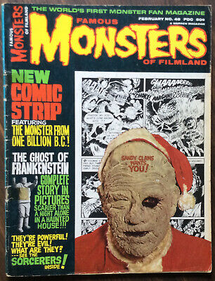 famous monsters of filmland magazine #48 G- good Minus Bagged And Boarded!