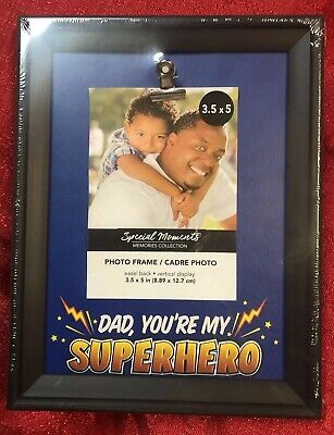 "Fathers Day Frames (Holds A 3.5""x5"" Photo Inside - Fathers Day Picture Frame - Dad Your My)"