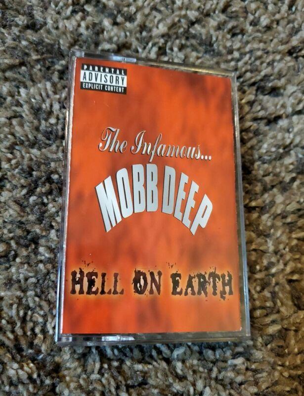 The Infamous Mobb Deep - Hell on Earth - Original Cassette Tape Nas Method Man