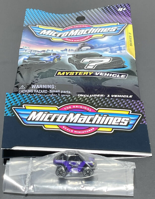 Micro Machines 2020 2021 Mystery Vehicle Blind Bags Series 3 OFF-ROAD BUGGY 0165