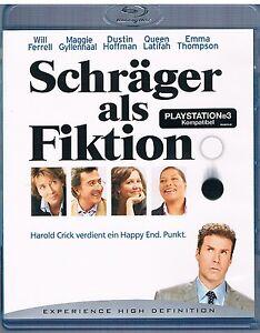Schräger als Fiktion - Will Ferrell, Maggie Gyllenhaal, Dustin Hoffman - Blu Ray