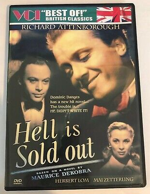 Best of British Film DVD HELL IS SOLD OUT 1951 Herbert Lom, Richard