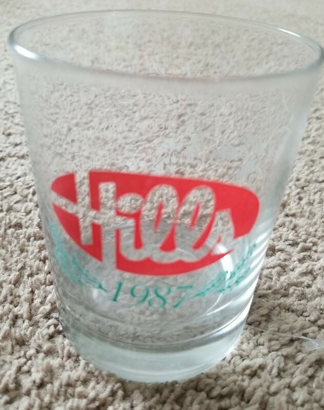Vintage Defunct Hills Department Store 1987 christmas XMAS glass holiday