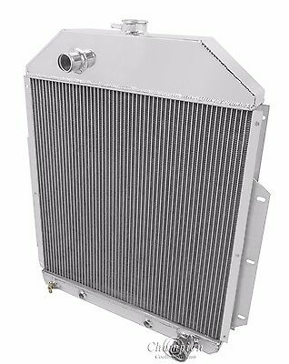 1942 1943 1944 1945 - 1948 Ford 3/4 Ton Pickup 3 Row DR Radiator (Chevy V8)