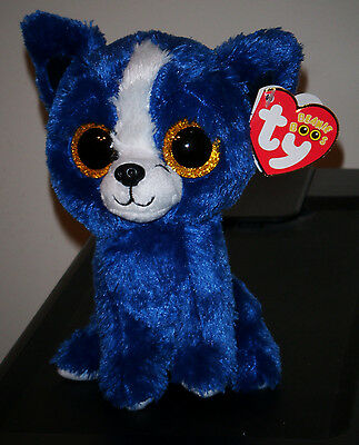 "Ty Beanie Boos ~ T-BONE the 6"" Dog (Gift Show Exclusive) NEW"
